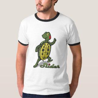 Slider the Turtle Ringer T-Shirt