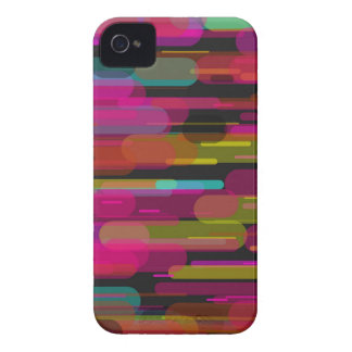 Sliding Abstract Pattern iPhone 4 Case-Mate Cases