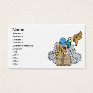Sliding Business Card