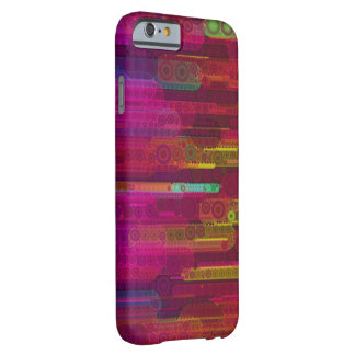 Sliding Florescent Abstract Pattern Barely There iPhone 6 Case