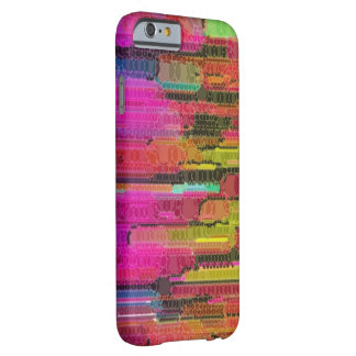Sliding Florescent Washed Abstract Barely There iPhone 6 Case