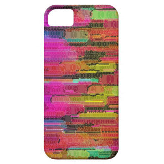 Sliding Florescent Washed Abstract iPhone SE/5/5s Case