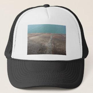 Sliding into the blue sea trucker hat