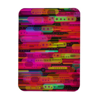 Sliding Star Abstract Pattern Magnet
