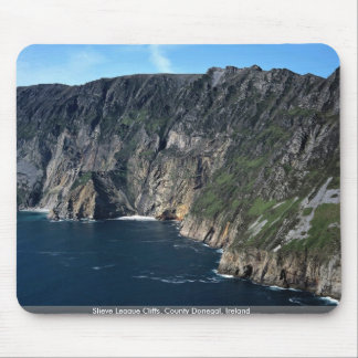 Slieve League Cliffs County Donegal Ireland Mousepad