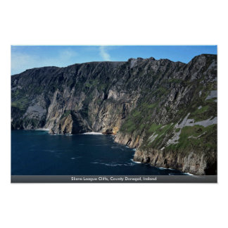Slieve League Cliffs, County Donegal, Ireland Poster