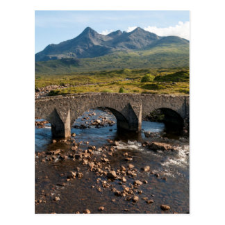 Sligachan Bridge, Isle of Skye, Scotland Postcard