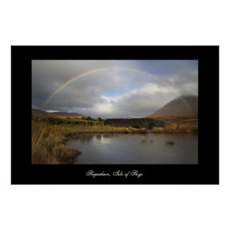 Sligachan Rainbow. Poster by cARTerART