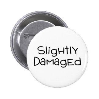 Slightly Damaged 2 Inch Round Button