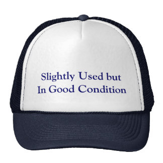 Slightly Used but, In Good Condition Trucker Hat