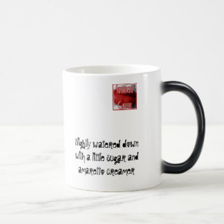 Slightly watered down with a lit... 11 oz magic heat Color-Changing coffee mug