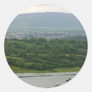 Sligo And Knocknara As Seen From Deerpark Stickers
