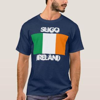 Sligo, Ireland with Irish flag T-Shirt
