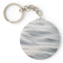 Sliky Flowing River Abstract Keychain