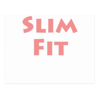 Slim Fit! Postcard