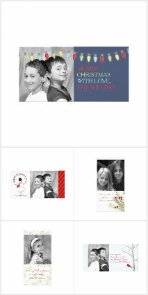 Slim Holiday Photo Cards