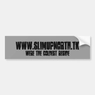 Slim Up North - Bumper Sticker