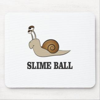 slime ball snail mouse pad