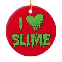Slime Ceramic Ornament