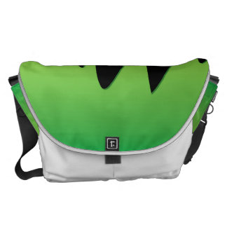 Slime dripping courier bag