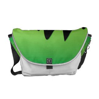Slime dripping messenger bag