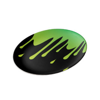 Slime dripping plate