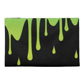 Slime dripping travel accessory bag