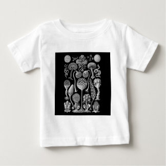 Slime Molds in Black and White Baby T-Shirt