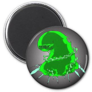 Slime Monster 2 Inch Round Magnet