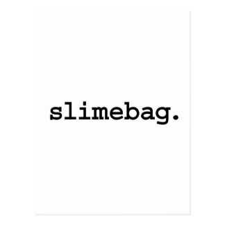 slimebag. postcard