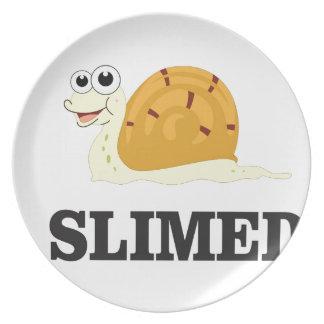 slimed snail plate