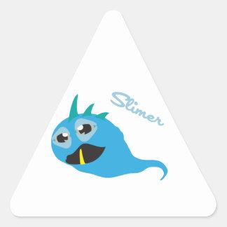 Slimer Monster Triangle Sticker