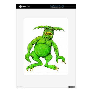 Slimey Green Monster iPad Skin