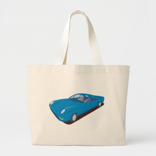 Slimline Concept Car Design Large Tote Bag