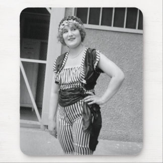 Slimming Stripes, 1920s Mouse Pad