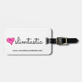 Slimtastic Plexus Slim Luggage Tag