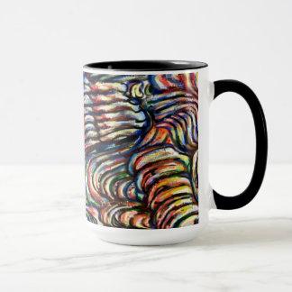 Slimy Abstract Painting Mug