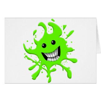 Slimy Greeting Card