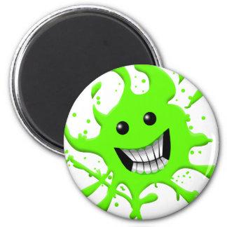 Slimy 2 Inch Round Magnet