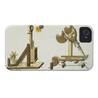 Sling with 'Greek Fire', plate from 'A History of iPhone 4 Case-Mate Case