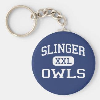 Slinger - Owls - High School - Slinger Wisconsin Keychains