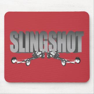slingshot dragster front engine rail red mouse pad