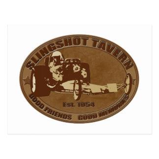 slingshot dragster tavern postcard