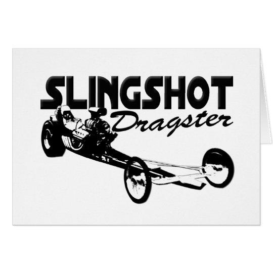 slingshot dragster vintage drag racing card
