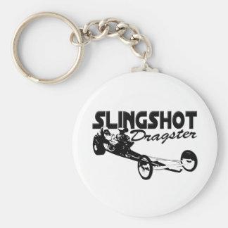 slingshot dragster vintage drag racing keychain