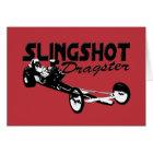slingshot dragster vintage drag racing red card