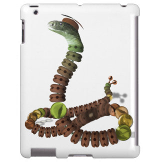 Slinkertoy Snake iPad Case