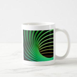 slinky abstract coffee mug