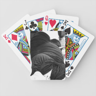 Slinky Black Dress Bicycle Playing Cards