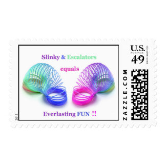 Slinky Everlasting Postage Stamps